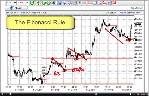Fibonacci tool for trader