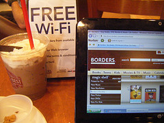 Free Wi-Fi and a Snack @ Borders
