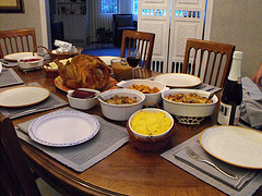 The 2009 Thanksgiving spread