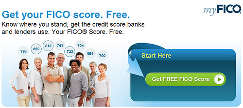 Free FICO Credit Score