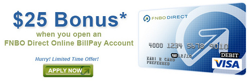 FNBO Direct promotion bonus