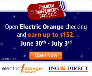 ING Direct Independence Day Promotion